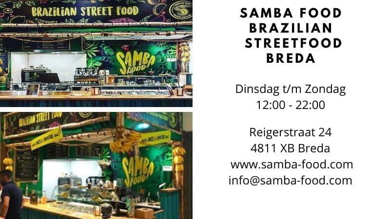 Braziliaanse Restaurants in Nederland-Samba Food Brazilian Streetfood Breda