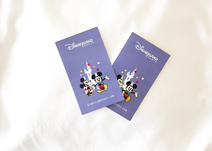 tickets voor Disneyland Parijs