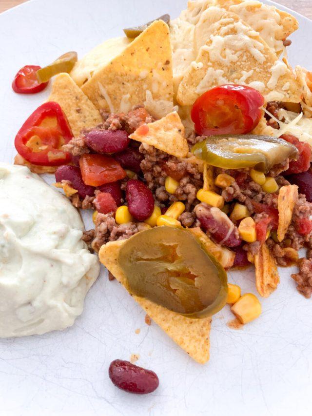 nacho's met jalapenos