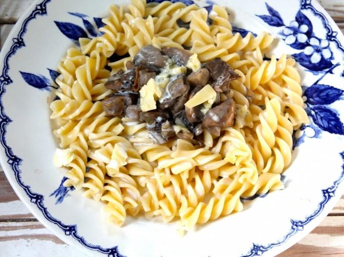 Pasta met champignonssaus