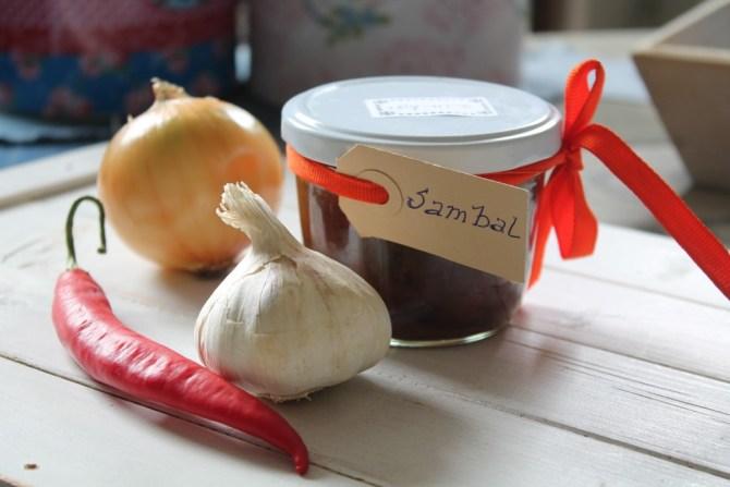 sambal met ingrediënten