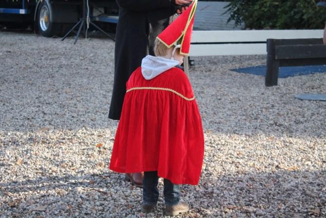 mini Sinterklaas vorig jaar gespot in Baarn