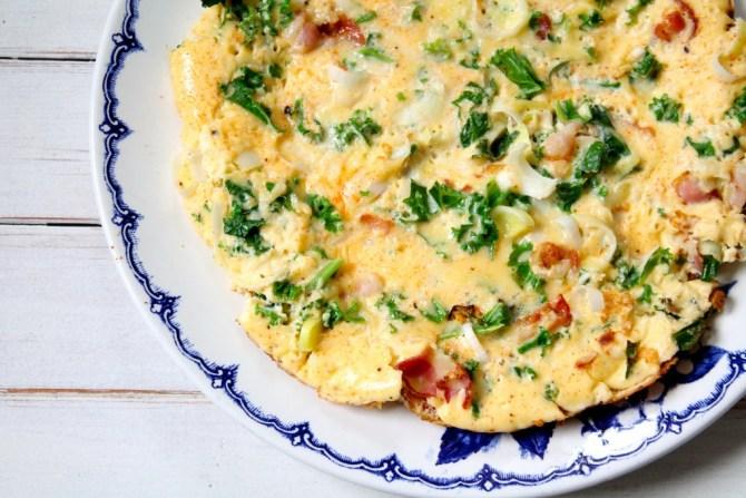 boerenkool omelet