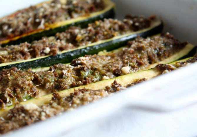 gevulde courgettes