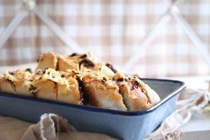 stokbrood met kruiden en kaas