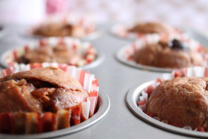 Cranberrie-hazelnoten muffins