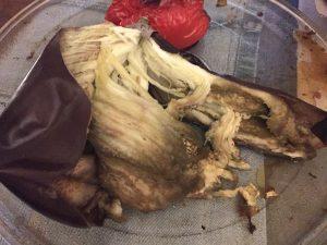 Zo ziet je aubergine er dan uit.