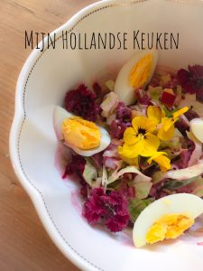 Goede start salade in a bowl
