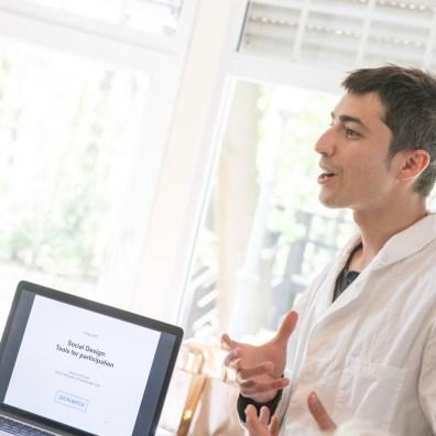 Giacomo Piovan vertelt over het belang van sociaal design
