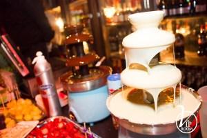 chocoladefonteinen bij The VIP Room Rotterdam