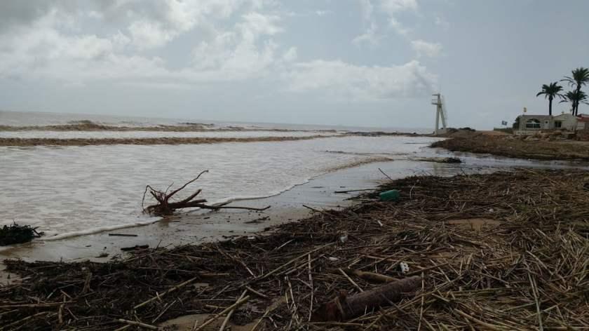 Zware schade aan de kust
