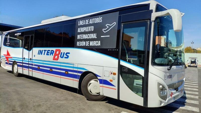 Lijnbus Corvera Airport naar Costa Calida