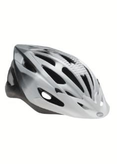 Bell Solara Helm - Wit/Zilver