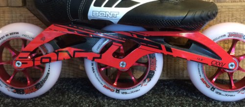 Bont Red Magic Hardcore 125