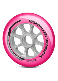 Bont High Roller Pink 100MM 87A
