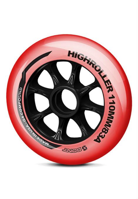 Bont Highroller Wielen - Inline Skate - 110mm