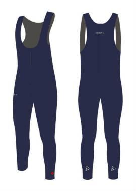 Craft Thermo Collant - Salopette - Schaatsbroek - Navy