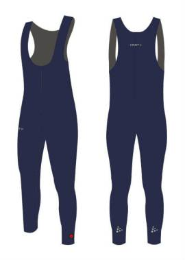Craft Thermo Collant - Salopette - Schaatsbroek - Navy