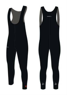 Craft Thermo Collant Salopette - Schaatsbroek - Zwart