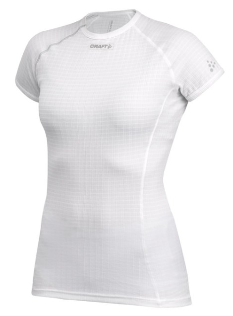 Craft Active Extreme Shortsleeve Woman White - Thermo Shirt Dames Wit 192443_2999