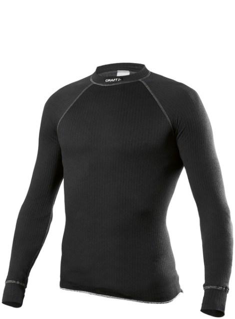 Craft Active Longsleeve Black Thermo Shirt met Lange Mouwen Zwart 194004_2999