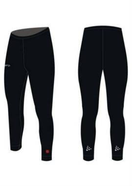 Craft Bike And Skate Thermo Tight Black - Unisex Schaatsbroek Zwart 940136