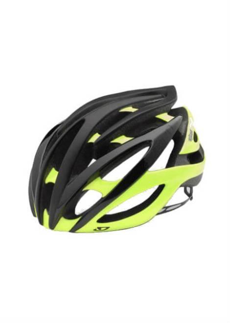 Giro Atmos II Helm - Mat Zwart/Geel