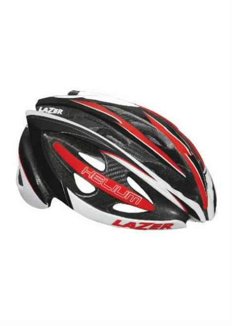 Lazer Helium Helm - Zwart/Rood