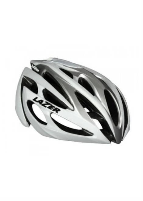 Lazer O2 Helm - Wit/Zilver