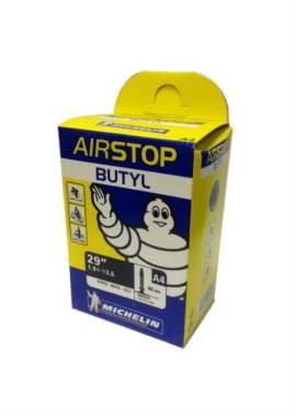 Michelin-Airstop-Butyl-Binnenband-29''-1.9-2.6''-40MM-Presta-Ventiel