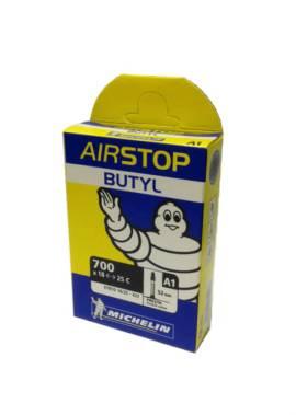 Michelin Airstop Butyl Binnenband - Michelin-Binnenband-700x18-25C-52MM-Presta