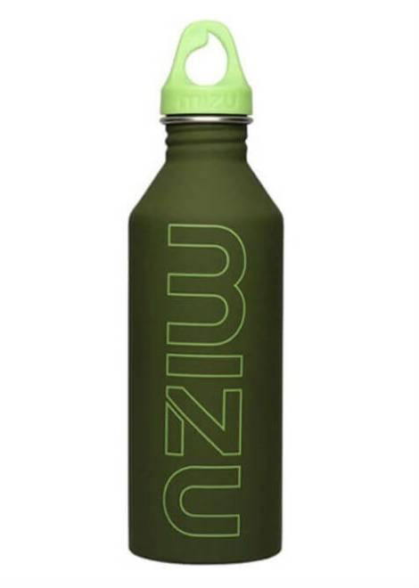 Mizu M8 Drinkfles - Groen - Vooraf/Tijdens/Achteraf