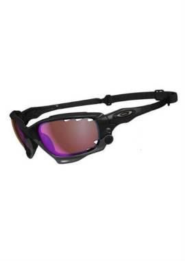 Oakley Racing Jacket - Sportbril - Zwart/Bruin