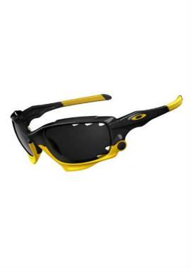 Oakley Racing Jacket - Sportbril - Zwart/Geel