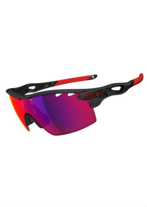 Oakley Radarlock Straight - Sportbril - Zwart/Rood