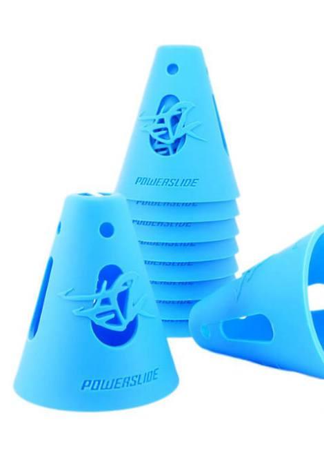 Powerslide - Cones - Pylonen - Blue - Blauw