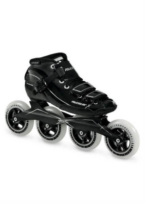 Powerslide X Skate - Inline Skate - Heren - Zwart/Zilver