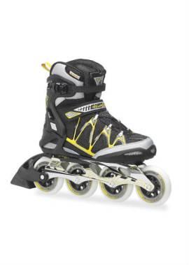 Rollerblade Igniter 90 Inline Skate Zwart/Geel