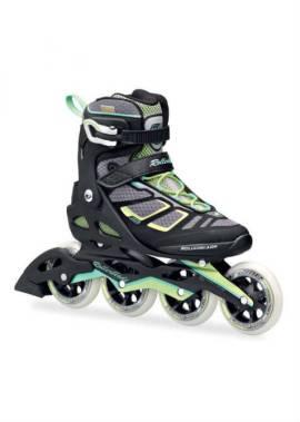 Rollerblade Macroblade 100 W – Inline Skate – Zwart/Groen