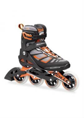 Rollerblade Macroblade 100 – Inline Skate – Zwart/Oranje