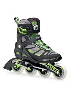 Rollerblade Macroblade 90 – Inline Skate – Zwart/Groen