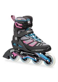 Rollerblade Macroblade 90 W – Inline Skate – Zwart/Roze