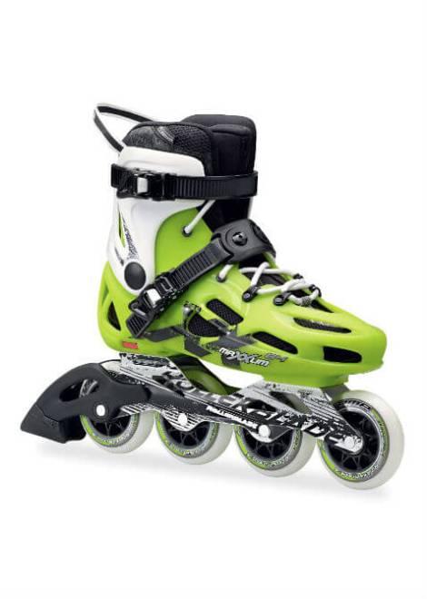 Rollerblade Maxxum 84 - Inline Skate - Groen/Wit