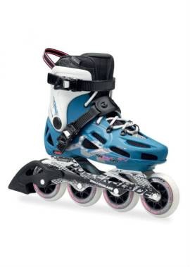 Rollerblade Maxxum 84 W – Inline Skate – Blauw/Wit