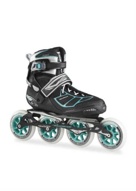 Rollerblade Tempest 100 W Dames Zwart/Blauw