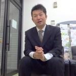 スタッフ紹介~営業部 課長:鎌形悦久(かまがたよしひさ)さん