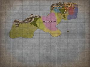 Bronze age Dhurig map