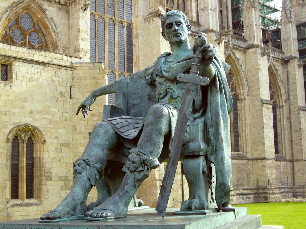 Varför borde du uppskatta kejsar Konstantin den store?