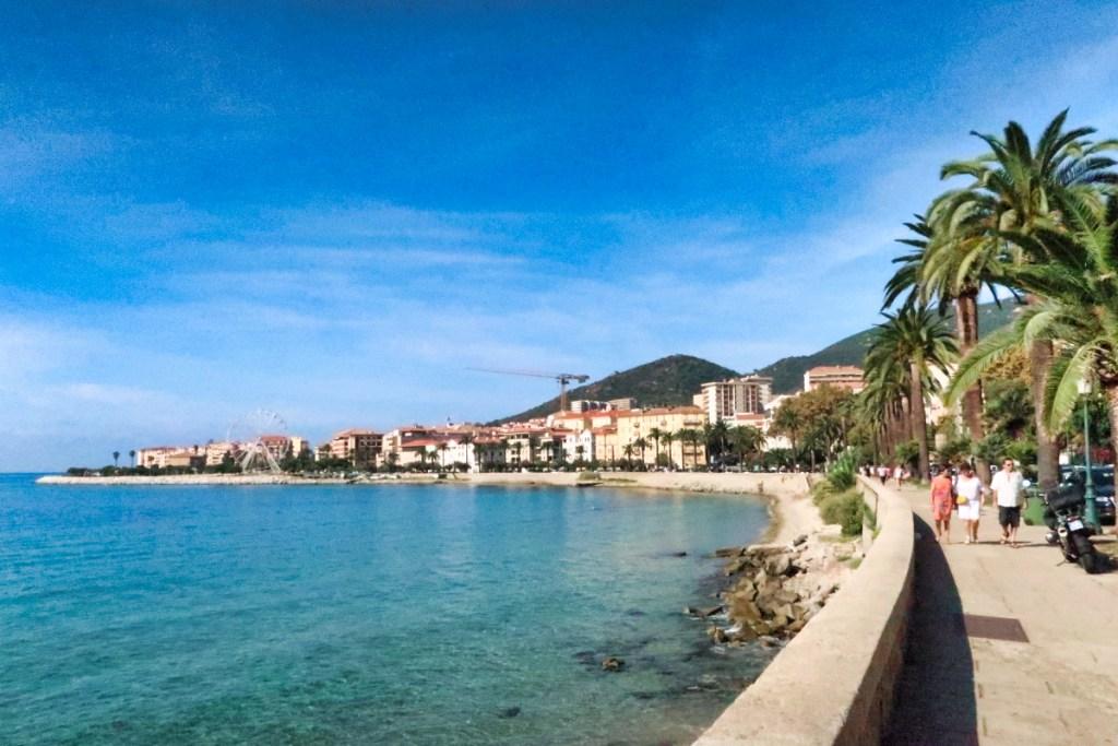 promenade Ajaccio