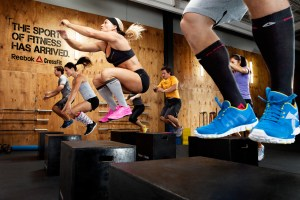 CROSSFIT plyometric session